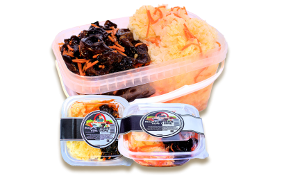 Ассорти грибное «День и ночь» по-корейски