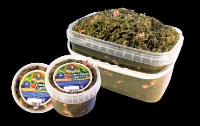 Морская капуста салат «С имбирем»